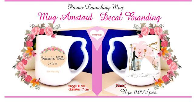 Promo Mug Souvenir Amstard