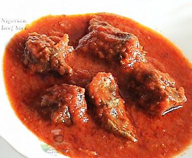 How To Prepare Tasty Nigerian Beef Stew