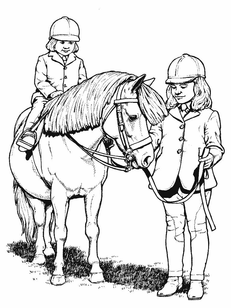 coloring book pages of horses | Horse coloring pages for kids | Coloring Pages For Kids