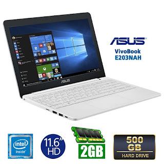 ASUS E203NAH (Proc. Intel N3350) | Baru