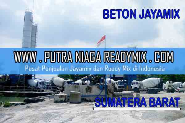 Harga Beton Jayamix Sumatera Barat