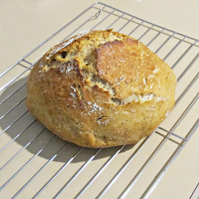 no knead bread recipe whole wheat whole grains