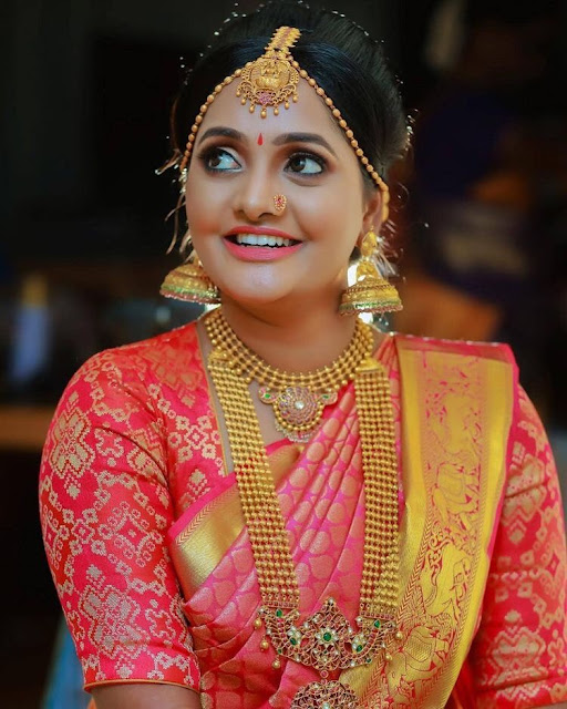 Bride in Gold Balls Patakam Haram