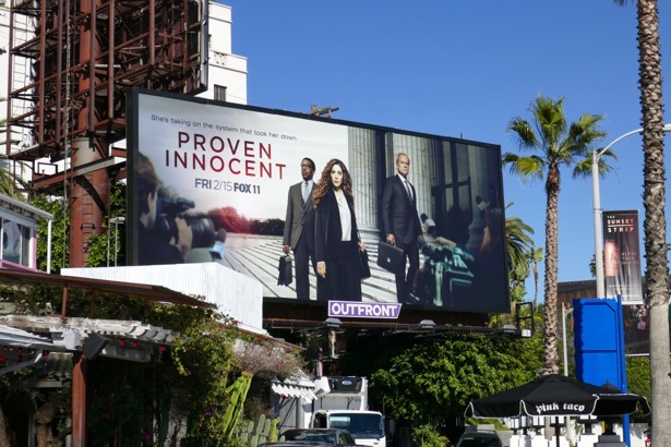Proven Innocent season 1 billboard