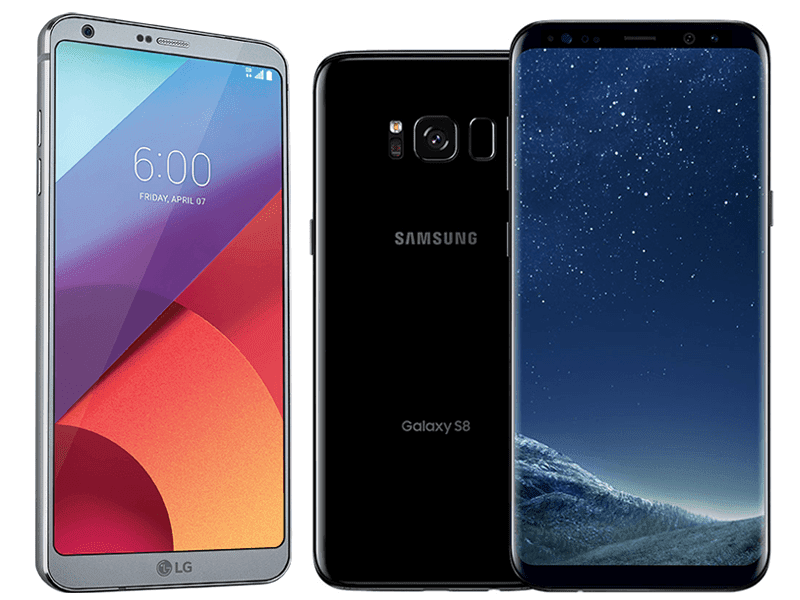 their South Korean competitor inwards the cast of the  LG G6 Vs Samsung Milky Way S8+ Specs Comparison