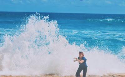 Pesona keindahan pantai malang Ngudel