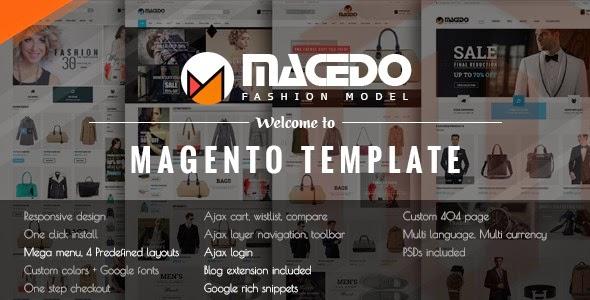2015 Responsive Magento Theme