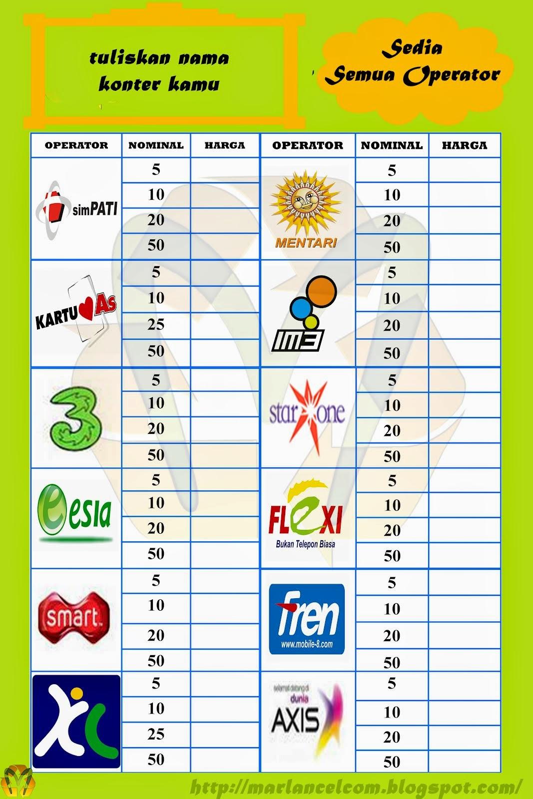 Image Result For Daftar Agen Pulsa Elektrik Terpercaya