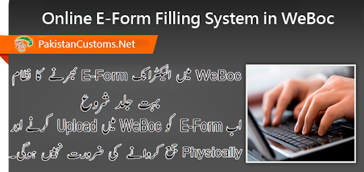 Electronic Form-E Filling System