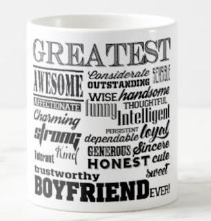 boyfriend gift idea mug wordcloud best