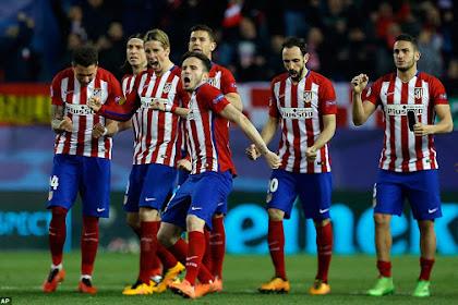 Atletico Madrid Sukses Sebagai Salah Klub Terbaik Di Dunia