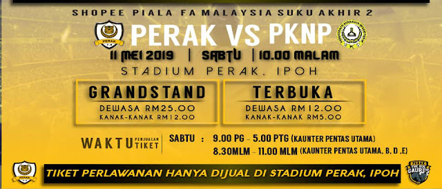 Live Streaming Perak vs Pknp Piala FA 11.5.2019