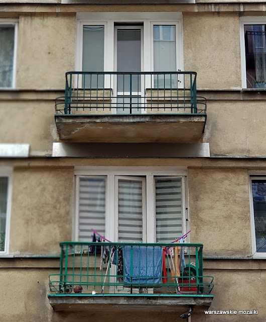 Warszawa Warsaw Praga Północ kamienica architektura praskie ulice balkon