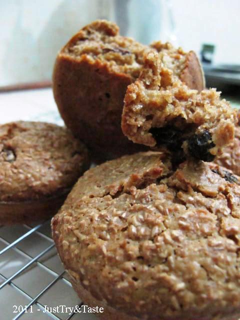 Resep Wheat Bran Muffin - Muffin Sehat Kaya Serat