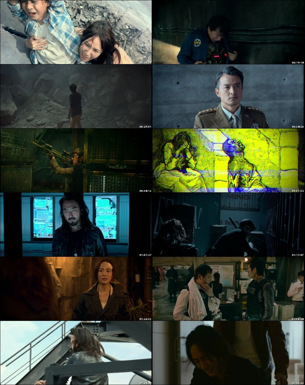 Black and White The Dawn of Justice 2014 Full Movie Download Hindi Dubbed 720p