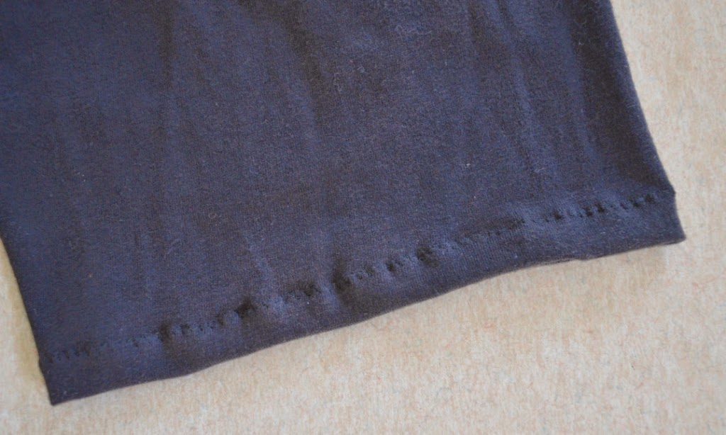 Close up of bike shorts leg hem. The stitches are noticeable in this photograph but when the shorts are worn and stretched out, the stitches are not noticeable.