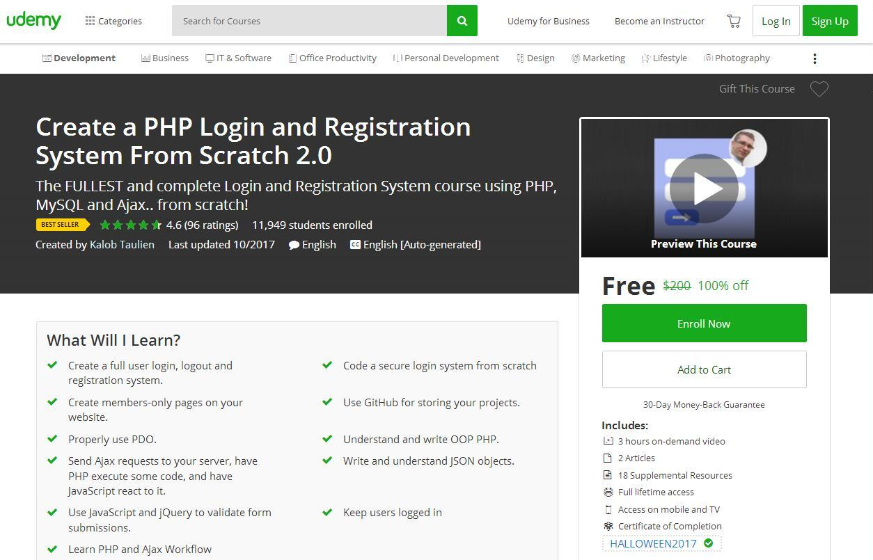 Create a PHP Login and Registration System From Scratch 2 0
