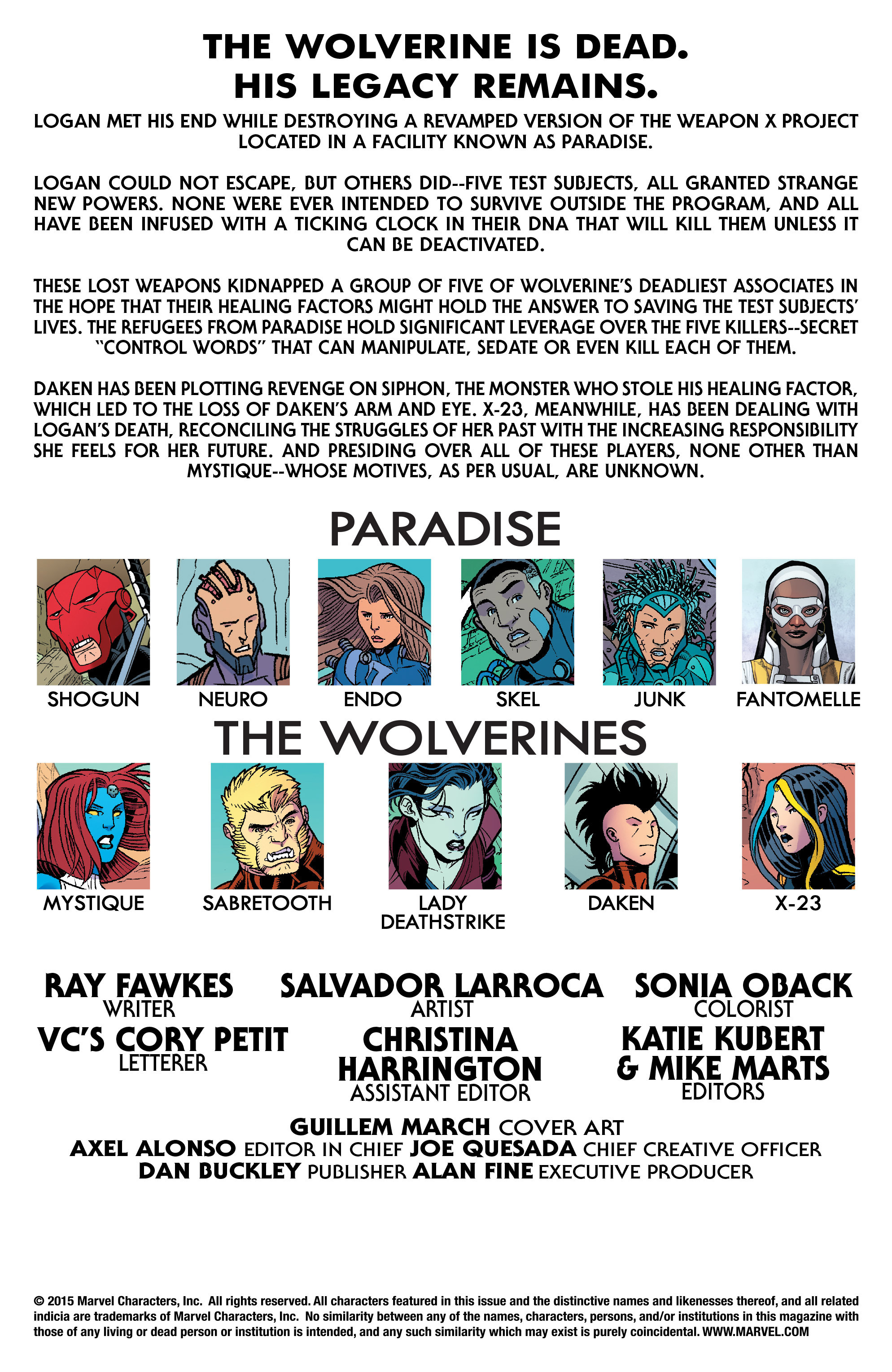 Read online Wolverines comic -  Issue #14 - 2
