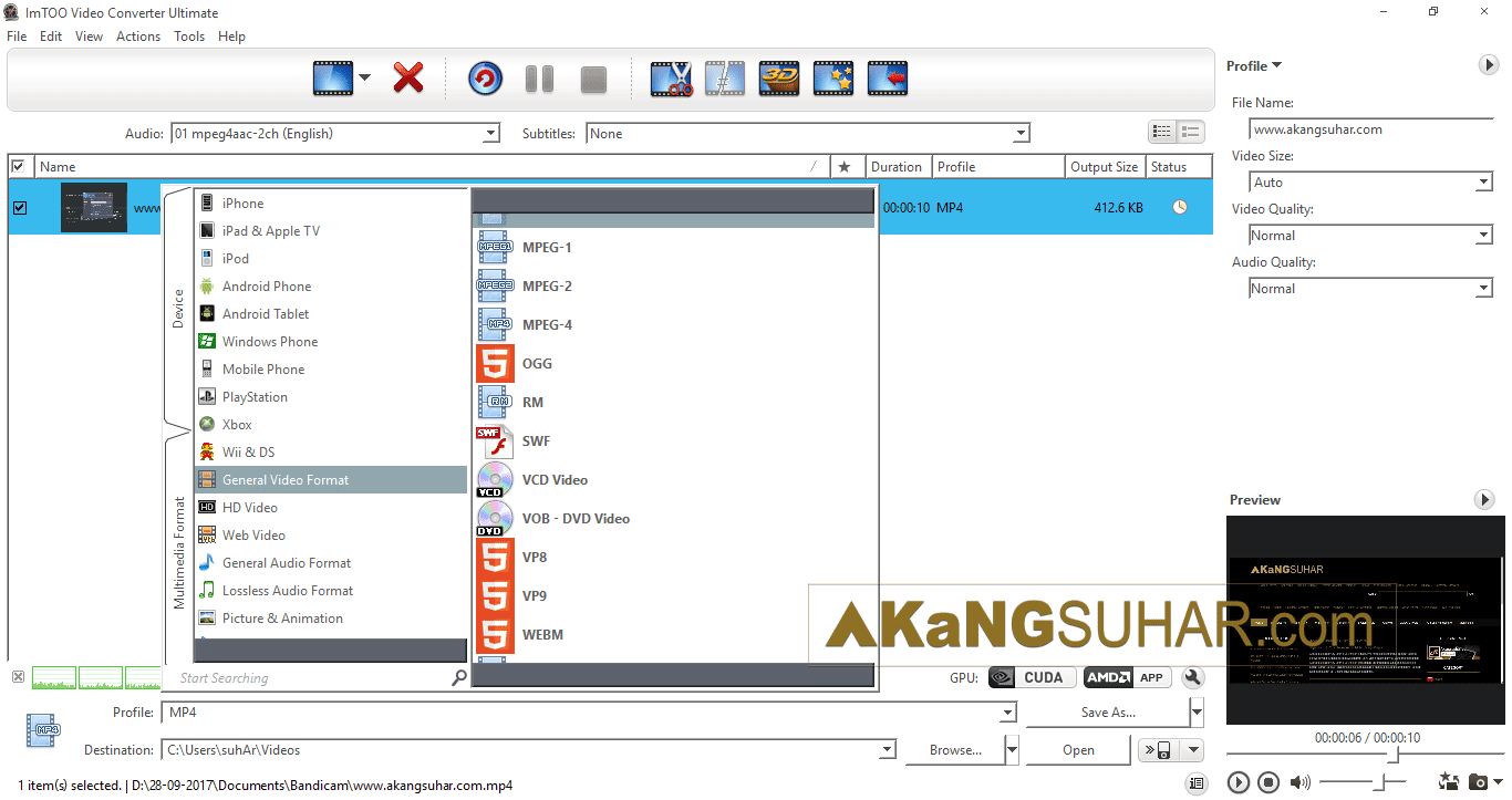 Free download software video converter ultimate ImTOO Video Converter Ultimate 7 final full version terbaru gratis serial number patch keygen crack license www.akangsuhar.com