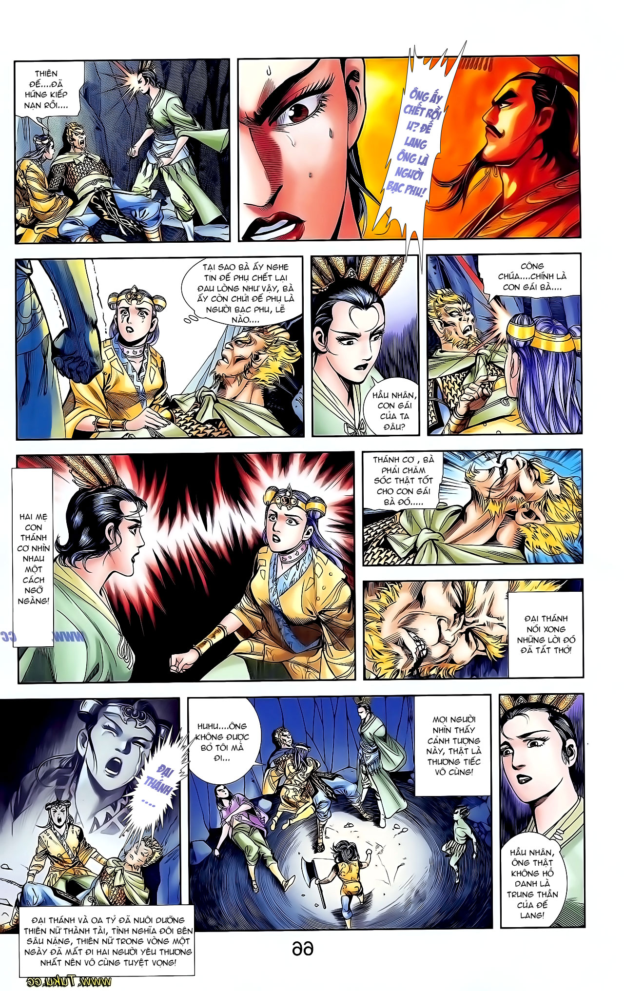 Cơ Phát Khai Chu Bản chapter 127 trang 26