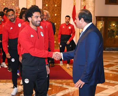 بشرة خير لمحمد صلاح قبل كاس العالم