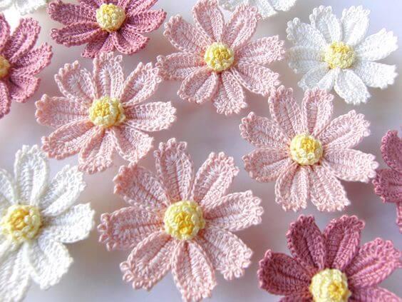 Crochet Flower Lotus Free Patterns