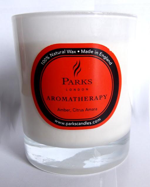 PARKS LONDON Bougie Parfumée - Aromatherapy - Amber Citrus Amara