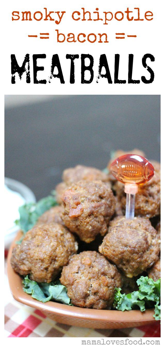 Smokey Chipotle Bacon Meatballs from MamaLovesFood ! Do I really need ...
