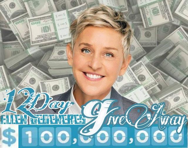 Ellen DeGeneres Giveaway Cash Money And Cars: Ellen DeGeneres