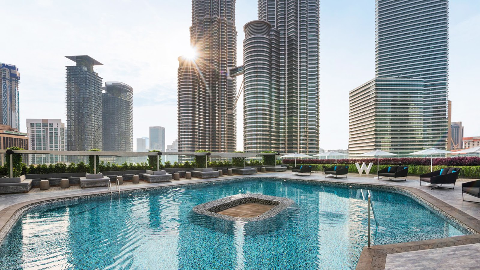 My review of the 5 star luxury hotel The W Kuala Lumpur, The Away Spa, and more by Posh, Broke, & Bored