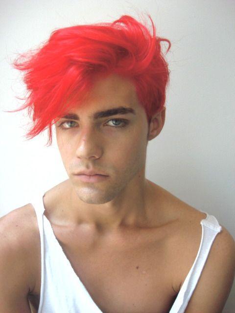 cores de cabelo masculino colorido vermelho (6)