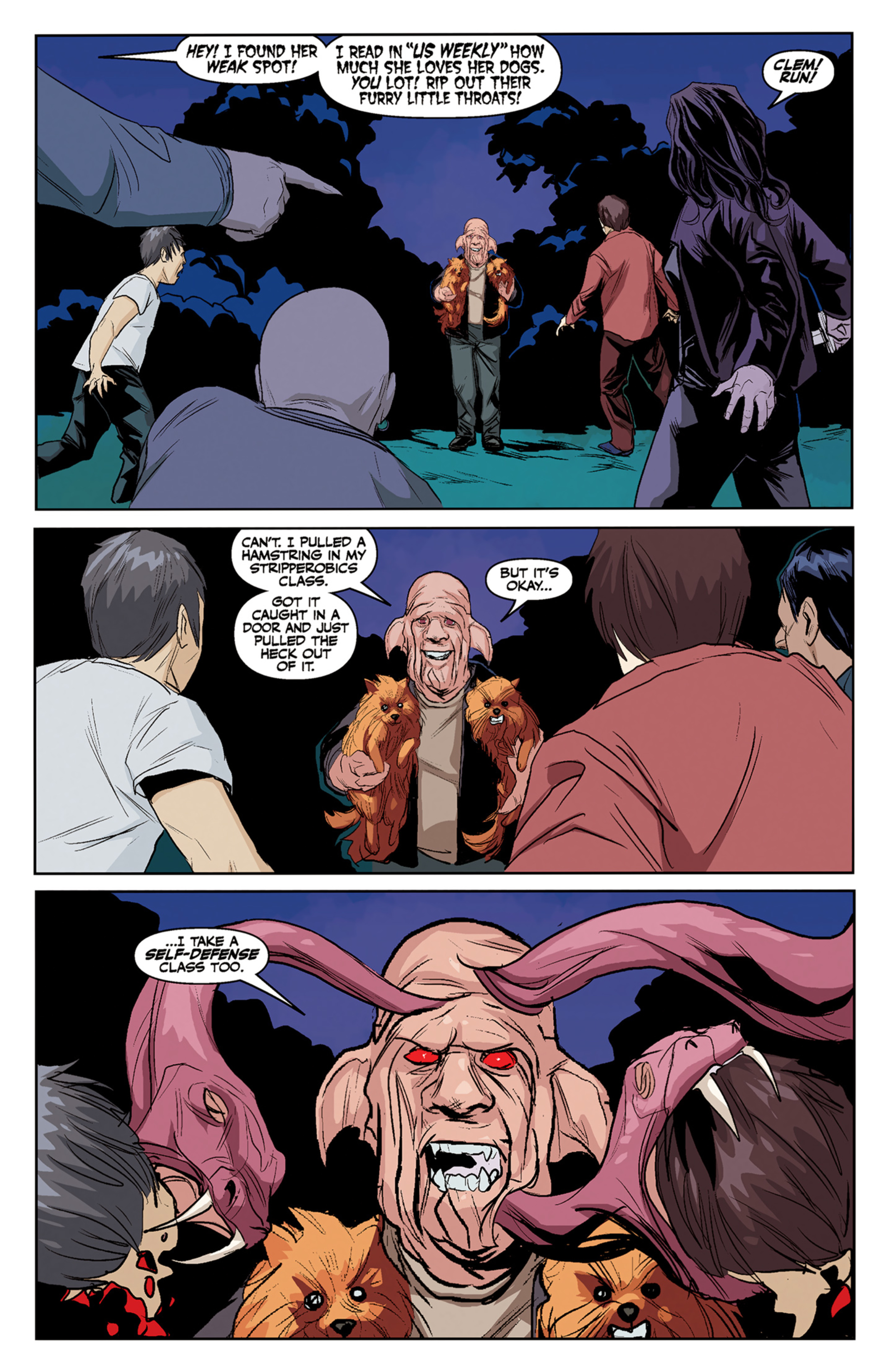 Read online Angel and Faith comic -  Issue #5 - 12