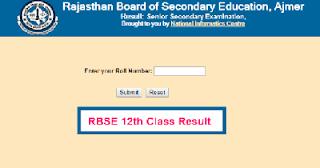 Rajasthan 12th Result 2021