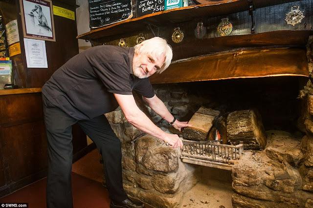 Τζάκι καίει αδιάλειπτα για 172 χρόνια