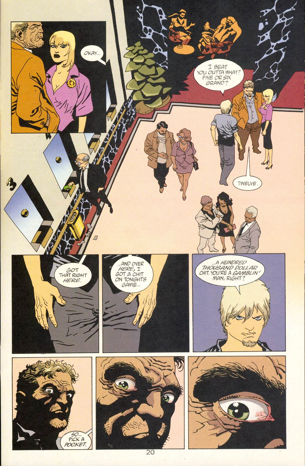 Read online 100 Bullets comic -  Issue #25 - 22