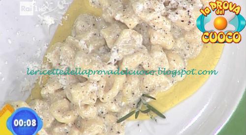 Cavatelli cacio e pepe ricetta Giunta da Prova del Cuoco