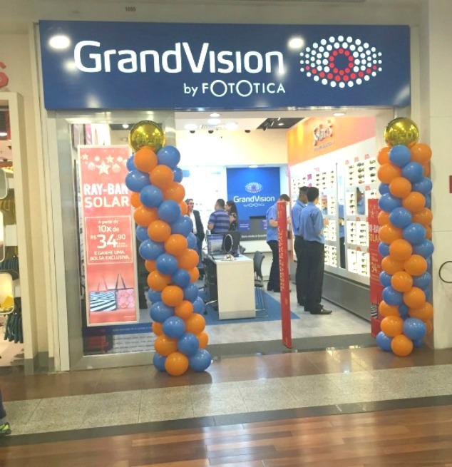 7be5e5a3b0f69 A GrandVision by Fototica, líder mundial no varejo ótico, acaba de abrir  sua segunda loja no Rio de Janeiro, localizada no Via Parque Shopping.