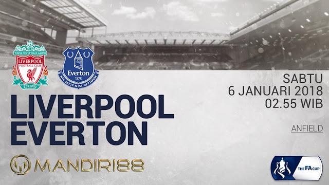 Prediksi Bola : Liverpool Vs Everton , Sabtu 06 January 2018 Pukul 02.55 WIB