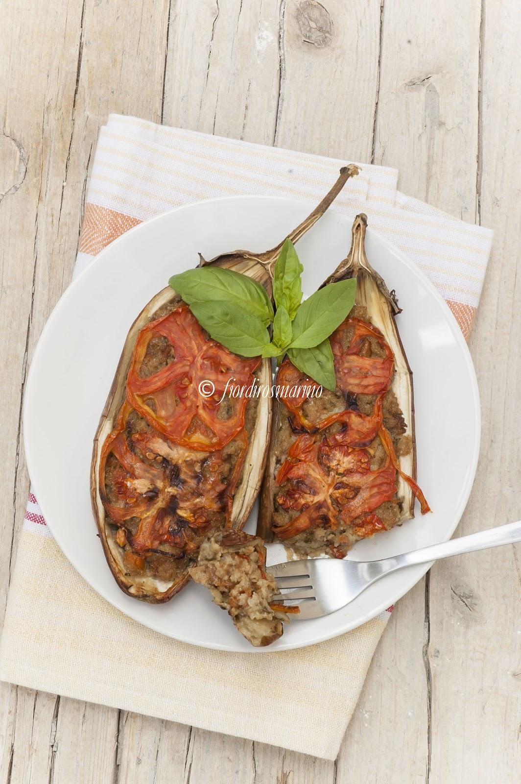 spesso Melanzane striate ripiene - Cucina Italiana Blog by Fiordirosmarino TJ36