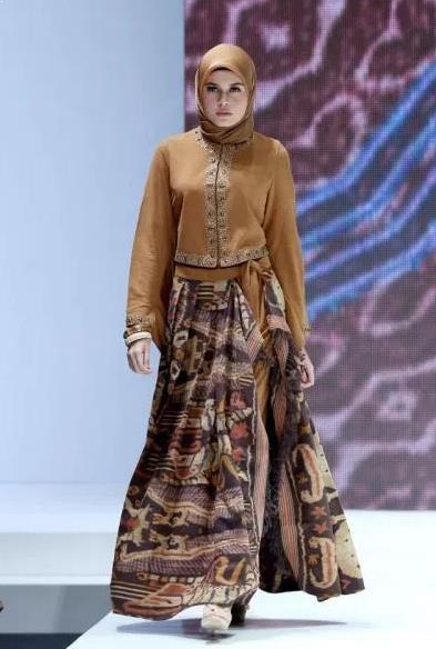 Info 57 Model Gamis Batik Modern 2019