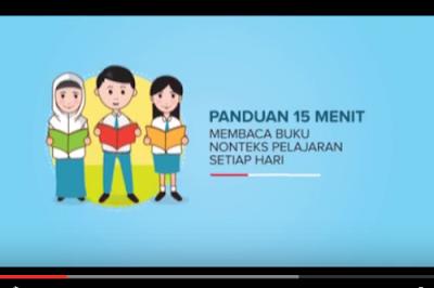 Video Panduan Program 15 Menit Membaca Buku (GLS)