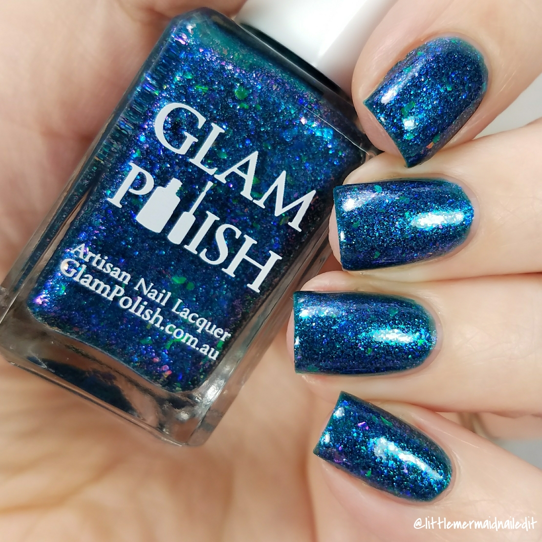 Little Mermaid Nailed It: Glam Polish Halloween Horror Shop Event