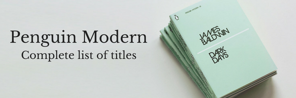 Penguin Moderns: A complete list of all 50 mini books
