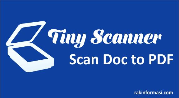 Cara Scan Dokumen Menggunakan Smartphone