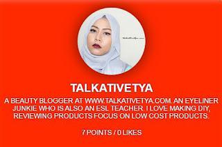 talkativetya di Zeemi.tv live broadcast membahas seputar eyeliner