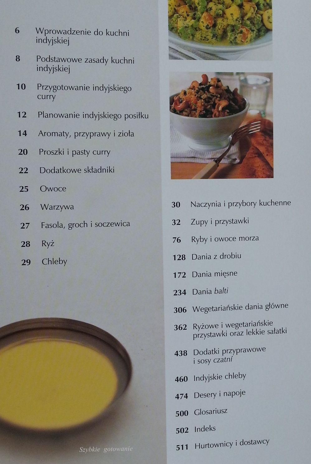 Szybkie Gotowanie Kuchnia Indyjska Najlepsze Przepisy