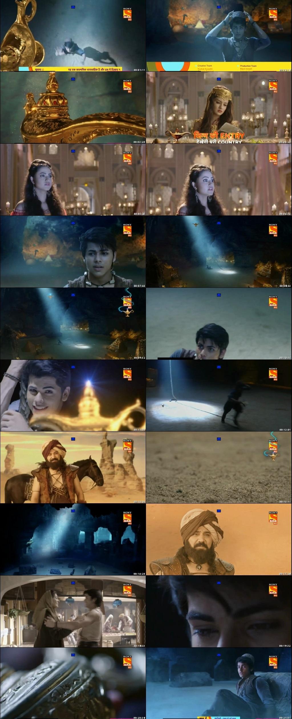 Screenshots Of Hindi Show Aladdin – Naam Toh Suna Hoga 2018 Episode 08 300MB 720P HD