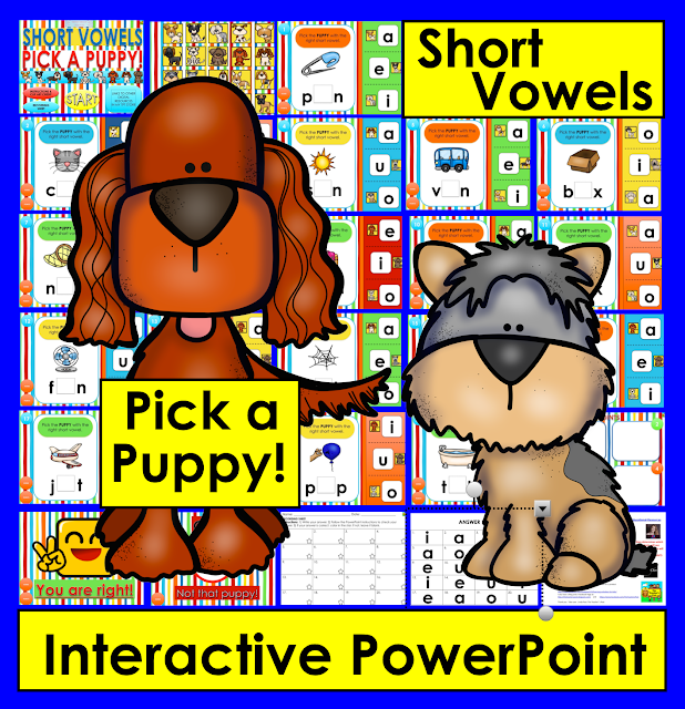 https://www.teacherspayteachers.com/Product/Interactive-PowerPoint-Game-for-Short-Vowels-3003104