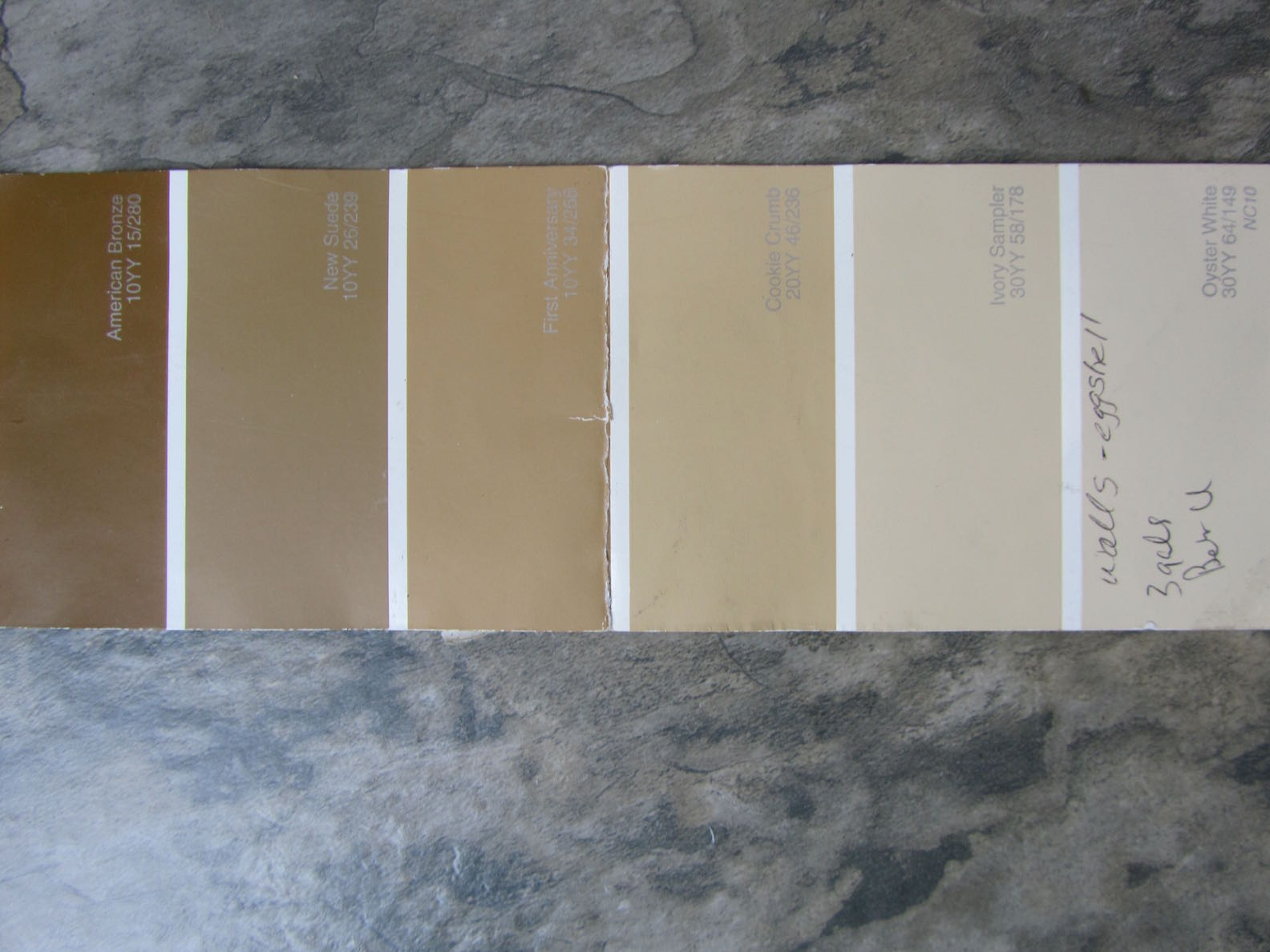 Paint Colors For The Interior Of Our House