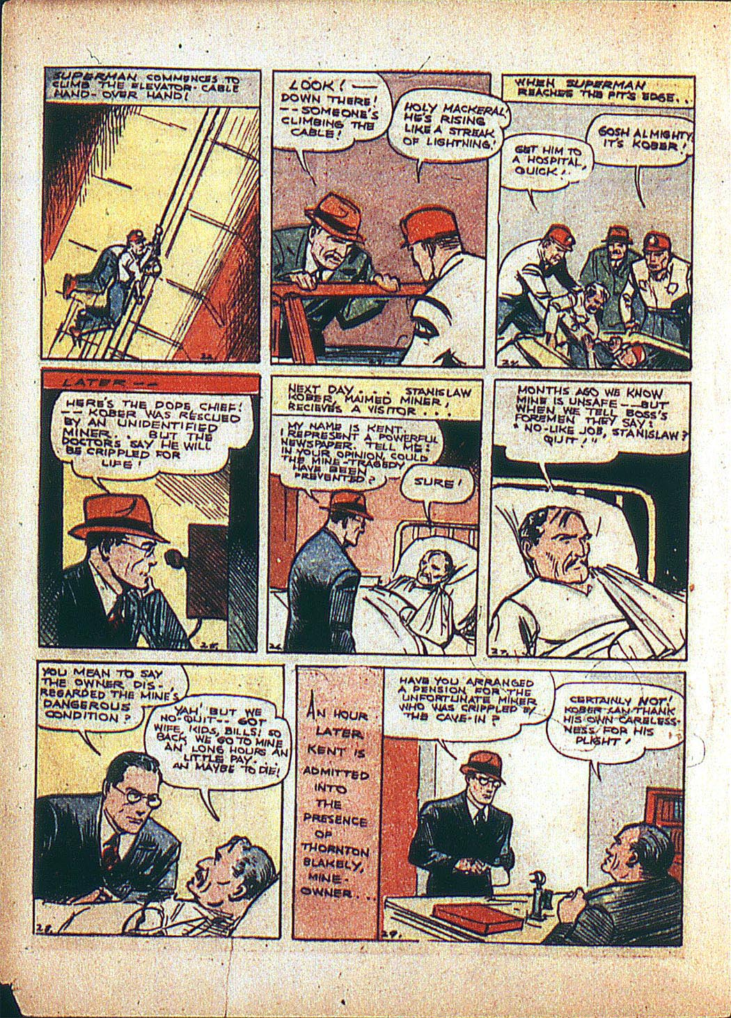 Read online Action Comics (1938) comic -  Issue #3 - 6